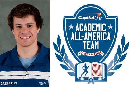 Erik Klontz, CoSIDA Academic All-District