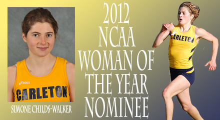 Simone Childs-Walker, MIAC nominee for NCAA Woman of the Year