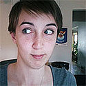 140 x 140 pixel photo of student blogger, Claire Weinberg