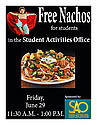 Free Nachos for Students!