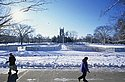 Carleton makes two ice rinks for broomball in the winter