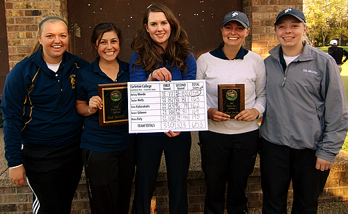 Women's Golf, College City Challenge Champions