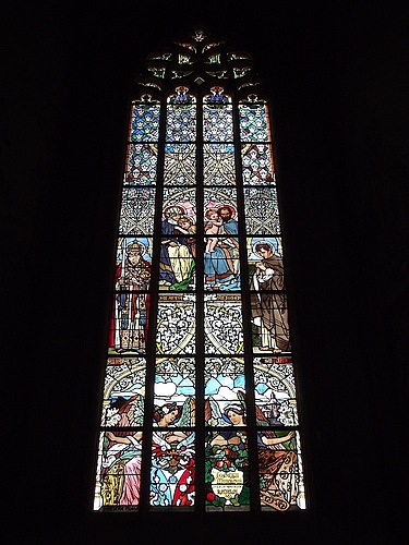 St. Barbara Stained Glass 1