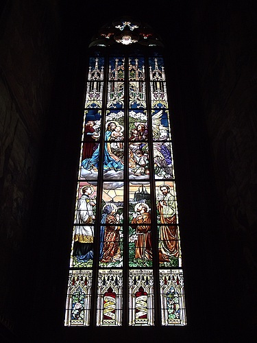 St. Barbara Stained Glass 2