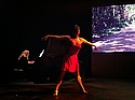 Torre Edahl '14 performed a lyrical dance piece for the Visual Learning Conference last weekend.