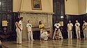 Students practiced capoeira in the Great Hall as a part of Hispanic Heritage Week.