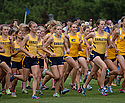 The women's Cross Country team