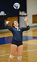 Jessa Youso '13 registered a career-best 23 kills at St. Mary's