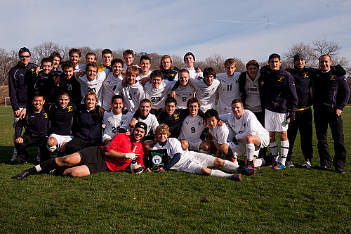 MIAC Champions, men's soccer action