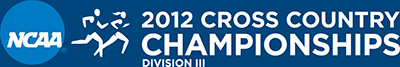 NCAA 2012 Women's Cross Country Championships logo (horizontal)