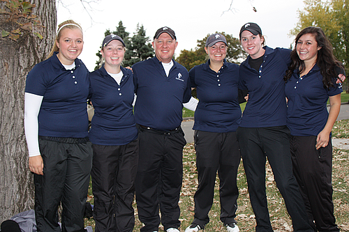 2012-13 Carleton Women's Golf Team
