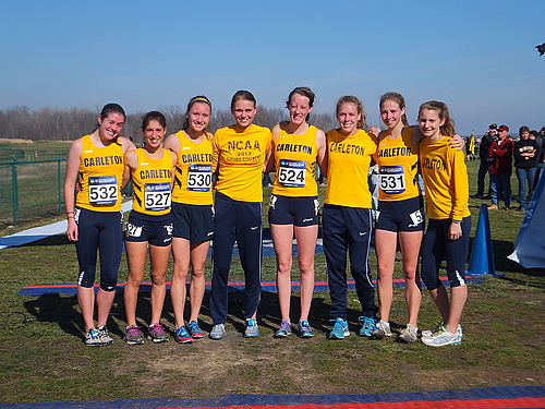 Colette Celichowski, Sally Donovan, Rachael Klehm, Haley Johnson, Ahna Weeks, Aly Wisekal, Ruth Steinke, Shira Kaufman, Women's Cross Country