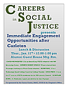 Careers in Soc Justice 1-17 Poster