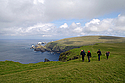 Hermaness on the Isle of Unst, Shetlands
