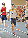 Noah Laack-Veeder '15, pictured running during last year's indoor season.