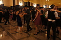 In the Great Hall last Saturday, students waltzed and fox-trotted.