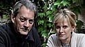 Married couple Paul Auster (left) and Siri Hustvedt (right) came to town last Wed.-Fri.