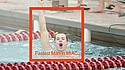 A placard image for media work Erik Klontz, Men's Swimming and Diving Profile, 3/14/13