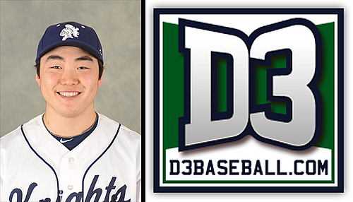 Baseball: Hayden Tsutsui D3baseball.com Team-of-the-Week, March 26, 2013