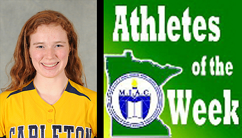 Keelin Davis, softball, MIAC AOW