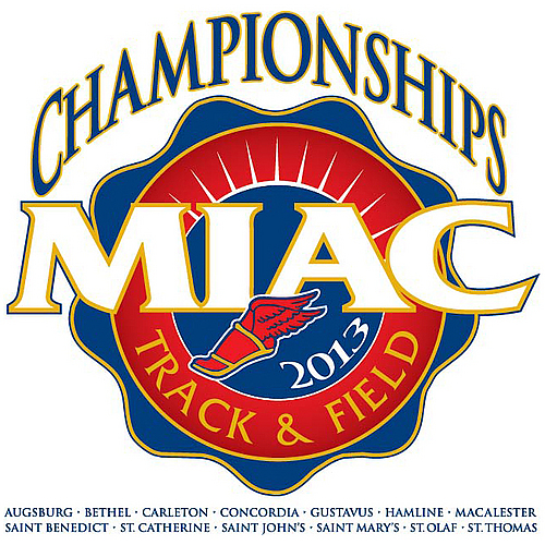 Track and Field 2013 MIAC logo