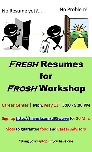 Freshman Resume Workshop