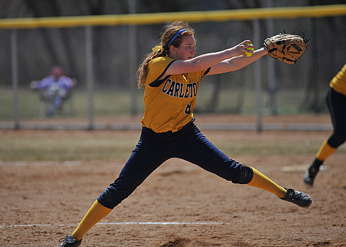 Keelin Davis, Softball action