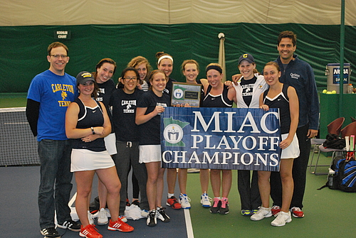Women's Tennis, 2013 MIAC Playoff Champs