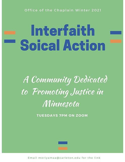 Interfaith Social Action Winter 2021