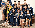 The class of 2010 are honored at the final dual meet of the 2009-2010 season