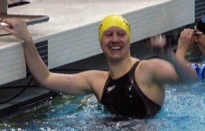 Marsman Sets National Record In 100 Freestyle 400 Freestyle Relay Victorious At Ncaa