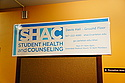 The Student Health and Counseling Center (SHaC) is open from 9 AM to 6 PM weekdays only.