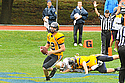 Quarterback Connor Lynch '14 passed for 152 yards and a touchdown.
