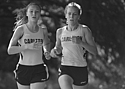 Ruth Steinke '16 (left) and Colette Celichowski '15 finished 12th and 18th respectively at Blugold.