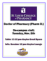 St. Louis College of Pharmacy Poster