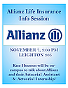 Allianz Life Insurance Information Session