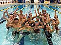 Carleton's Swim Fit class completed their own Hour of Power - what vigor!