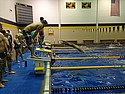 Lycoming College swimmers during the 2013 HoP.