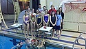 Saint Mary's swimmers after the 2013 HoP.