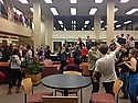 Everyone dancing on 4th Libe!