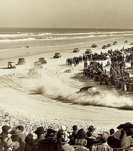 Daytona Beach race, circa 1940
