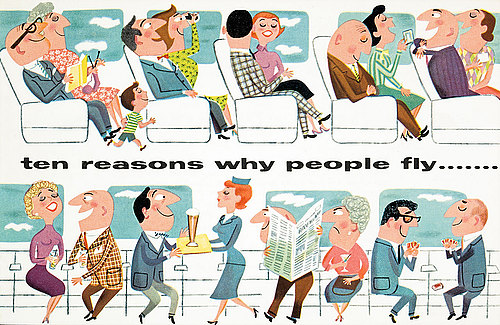 ten reasons why people fly