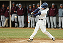 , men's baseball action