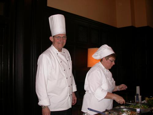 Mick White and Sodexho Serverv
