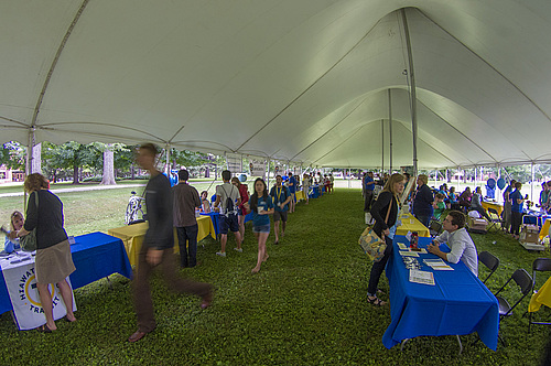 Information Tent & Information Tent | New Students 2017 | Carleton College