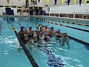 Carleton College SwimFit Hour of Power 2014