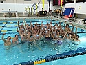 Carleton College - Hour of Power 2014 - Swimmers