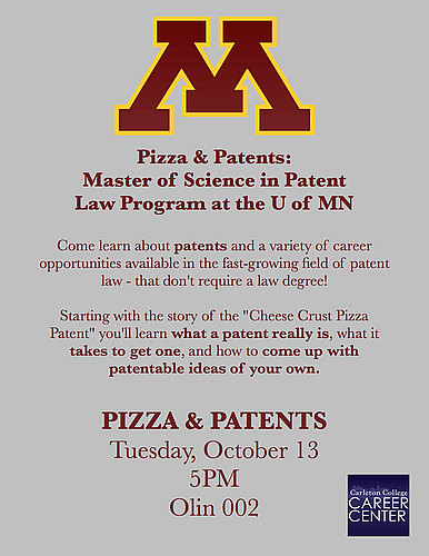 Pizza & Patents: Masters in Patent Law at U of MN Law School