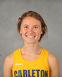 Ruth Steinke, women's cross country headshot, 2015