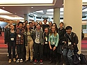 Carleton students who attended the AASHE student summit on Sunday, October 25.